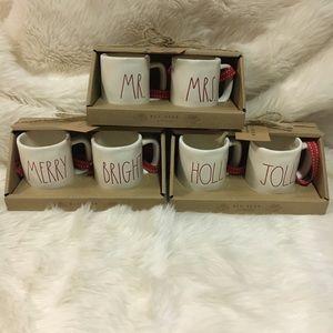 Rae Dunn Holiday - Rae Dunn Mini Mug Christmas Ornaments